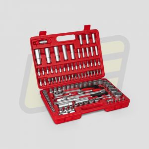 """Meletin estuche de herramientas Negortools de 108 piezas 1/4"""" 1/2"""""""